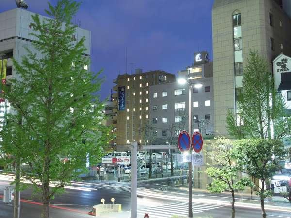 アパホテル<博多駅前>の外観