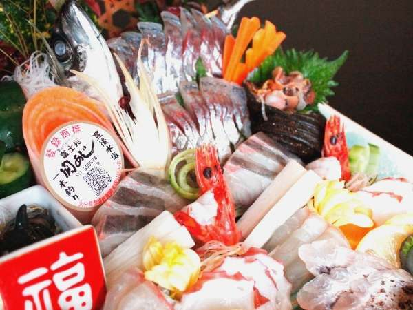 【晴海名物】 季節の大漁会席 2015