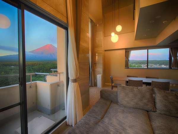 【2018年 NEW OPEN】コーナースイートルーム ザ・フジ 最上階からの富士山は唯一無二の絶景!