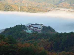 蒜山なごみの温泉 津黒高原荘の外観