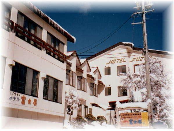 菅平高原の宿 ホテル 富士屋の外観