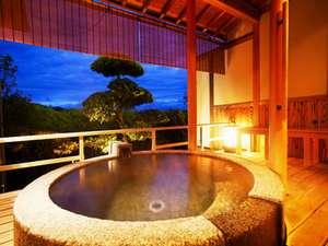 【天橋立温泉】天橋立一望、御影石の露天風呂付和室