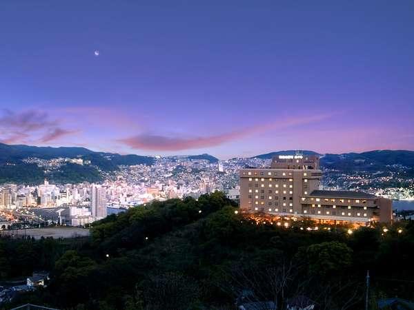稲佐山観光ホテルの外観