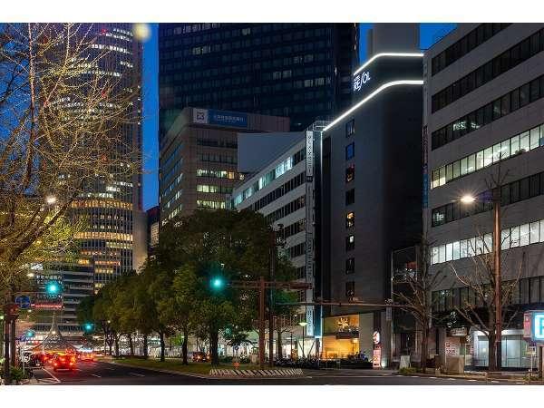 ホテルリソル名古屋の外観