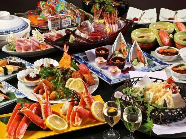 【「食事処」又「別会場」】新鮮な刺身や揚げ物などをドーンっと♪大皿プラン(人数分盛込みでご提供)