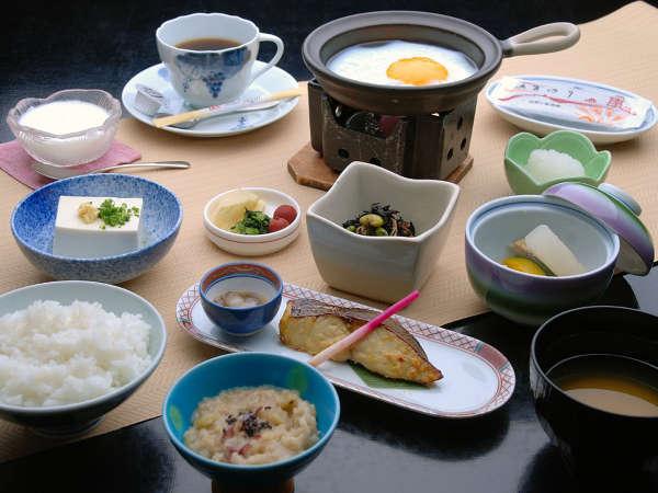 朝はおなかいっぱい召し上がれ♪佐賀自慢の朝食付プラン