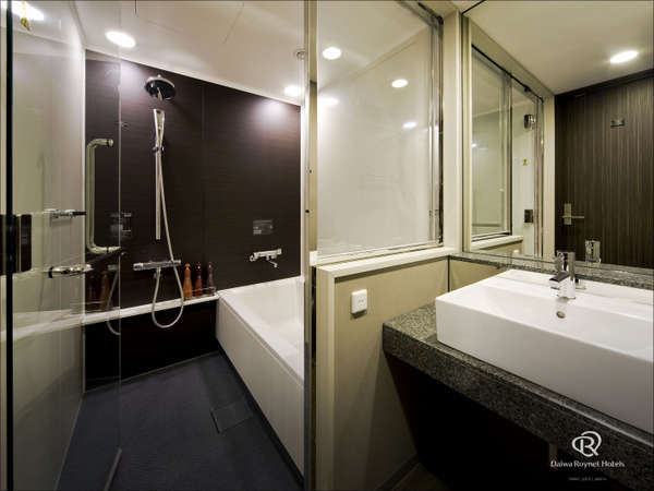 ◆ツインルーム◆洗い場付きバスルーム