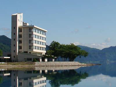 田沢湖ローズパークホテルの外観