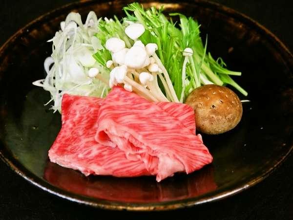 """【海の幸よりお肉が好き♪】ふきやの""""和牛しゃぶしゃぶ""""プラン"""