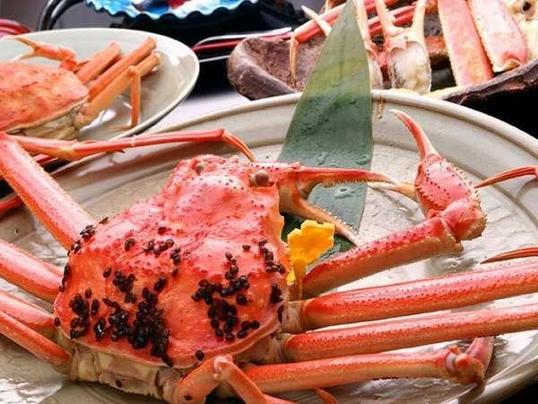 【蟹フルコース】特大蟹プラン