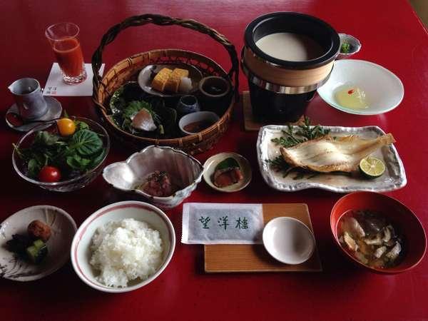 【望洋楼のあさごはん】朝食付お手軽ステイプラン・朝もゆっくりお部屋食♪