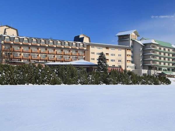 十勝川温泉第一ホテルの外観