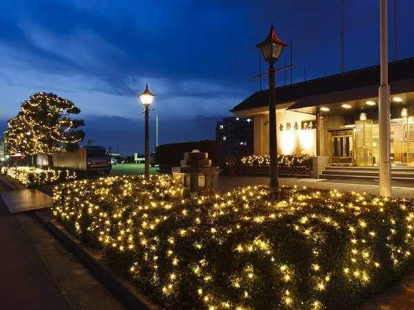 富士野屋夕亭の外観