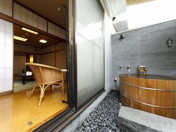 【露天風呂付客室★スタンダードStyle】 大人のひと時となる混浴温泉旅へ…