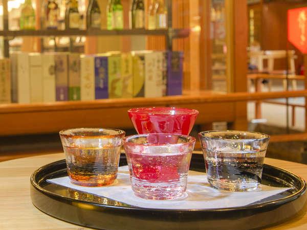 石川の地酒を堪能!銘酒処で味わう利き酒チケット付きプラン