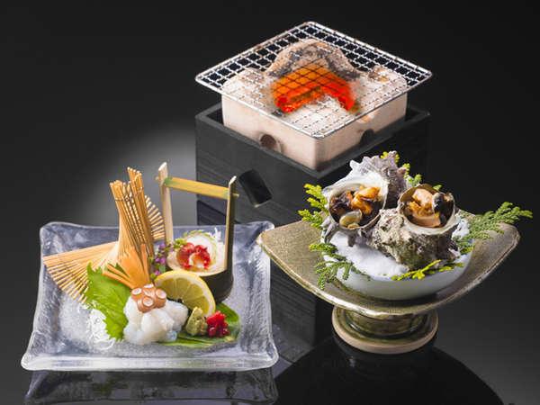 夏の味三昧!サザエや赤西貝など季節の食材を堪能◎夏の味覚プラン