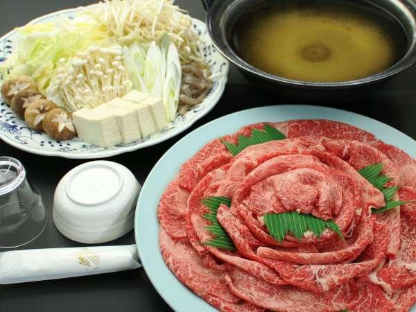 選べる国産黒毛和牛【すきやき】or【しゃぶしゃぶ】おすきな鍋をチョイスプラン