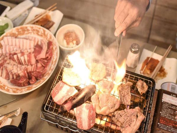 【屋上BBQ・朝食付プラン】都会の真ん中でビアガーデンを楽しもう♪
