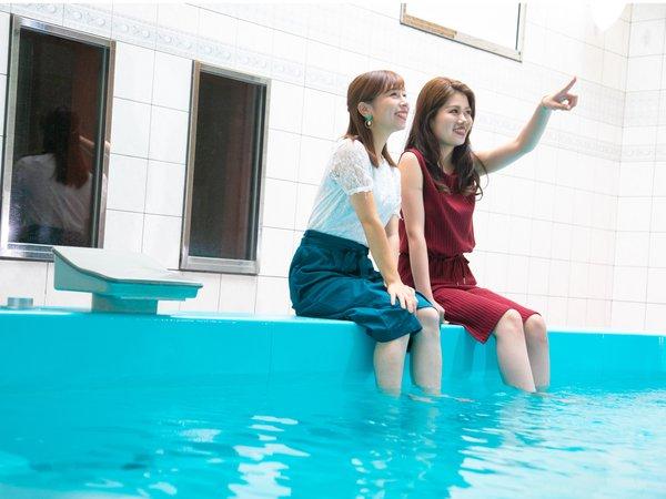 エグゼクティブスイートご宿泊のお客様には専用のプールが・・