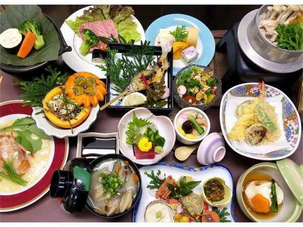 料理長おすすめ♪【1泊2食付】ボリュームアップ会席(うぐいす)プラン!!