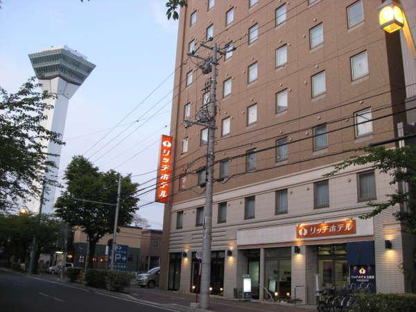 函館リッチホテル五稜郭の外観