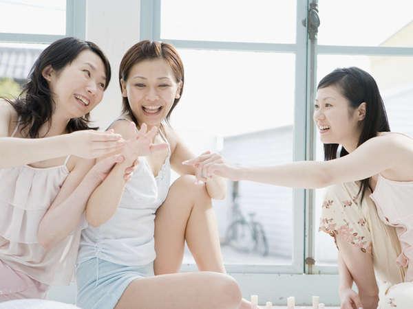 【温泉女子旅】ケーキ&カクテル付き♪露天・展望風呂付客室で過ごす女子旅/ビュッフェ