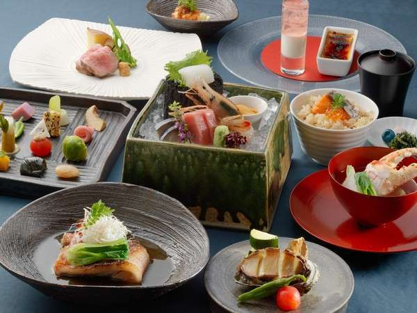 【正規料金】1泊2食付 夕食:特別膳「天の謌会席」プラン