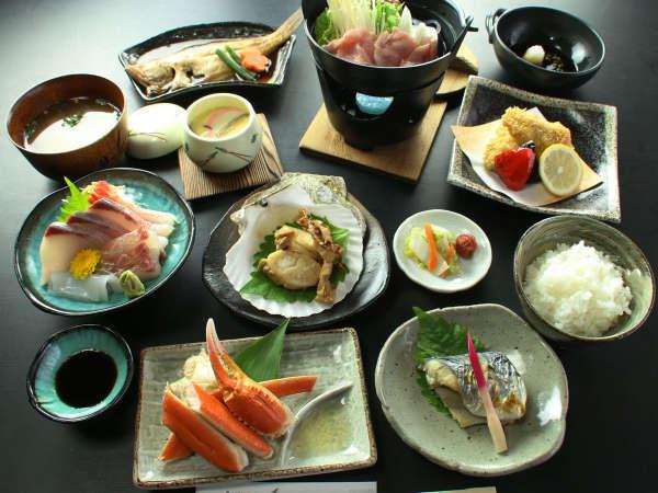 (海鮮コース)新鮮な魚介たっぷり召し上がれ 海鮮コース