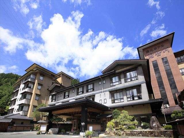 湯元ホテル阿智川 外観