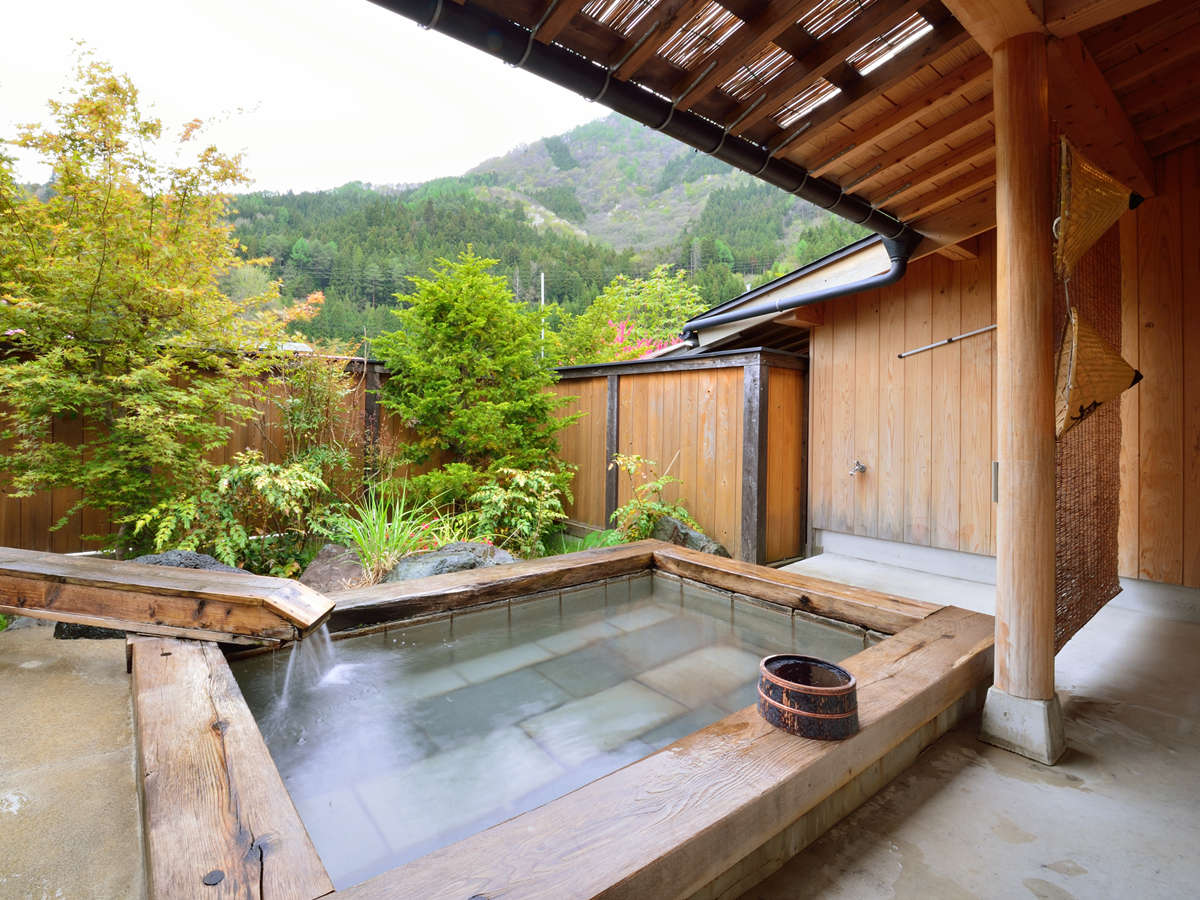 温泉は貸切風呂でゆったり