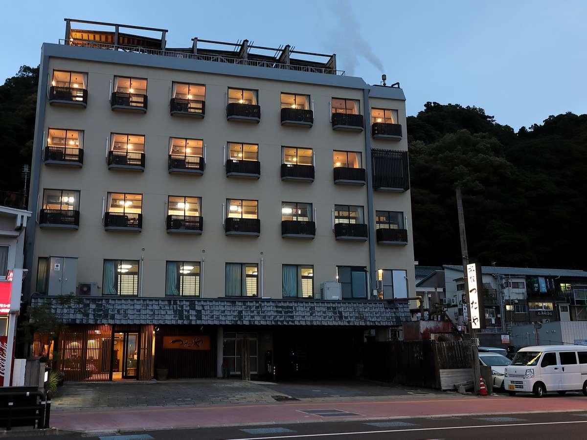 小浜温泉 海辺の宿 つたや旅館