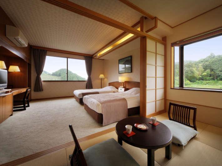 檜風呂付洋和室