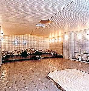 ゆったり広々とした大浴場