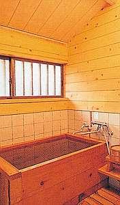コテージひのき風呂