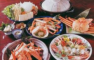 香住ガニのすべて美味しさを満喫フルコース(2名分)