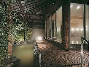 ◆灯心の湯-露天風呂(男女入替制)源泉100%かけ流し!風情標う佇まい