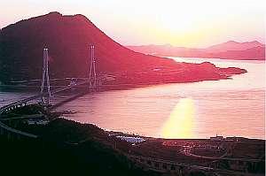 しまなみ海道の格安ホテル 日観連加盟 料理旅館富士見園