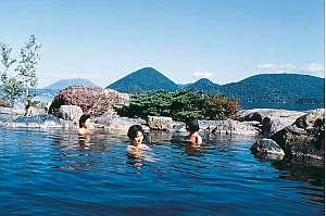 洞爺湖温泉  洞爺サンパレス