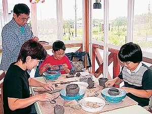 《家族で体験》陶芸教室やステンドグラス教室など各種体験プランあり!