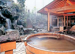 色々な種類の露天風呂