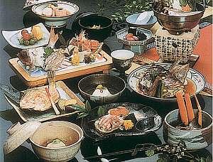 板長おまかせ料理(一例)