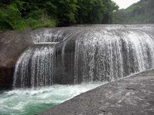 東洋のナイアガラといわれている吹割の滝