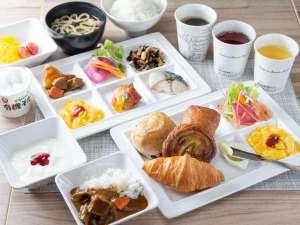 朝食の盛り付けイメージ③