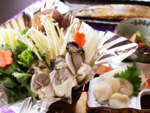 夕食単品_海鮮鍋は時期によってお出しするものが変わってきます!