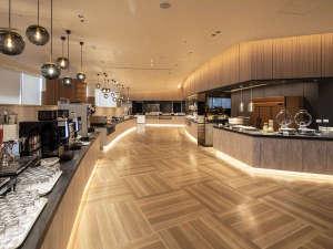 1階カフェ&レストラン「ヴァン」が158席の大型ブッフェレストランに生まれ変わりました。