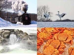 冬の釧路も魅力が満載♪