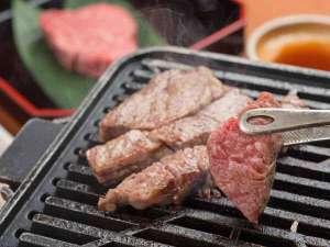 *【夕食一例】榊/草子:松坂牛鉄板焼(イチボ・ローススライス・ヒレ)