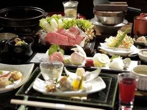 選べる夕食★足柄遊膳:当日お席で3種類からお好きなお鍋をチョイス可能♪