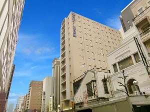 【外観】中部地区最大の繁華街【栄・錦】に位置するビジネスホテル。