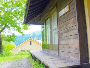 【コテージ】時間を忘れて、のんびりとした気分と田舎の安らぎを味わって下さい。